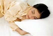 sleep kvinna